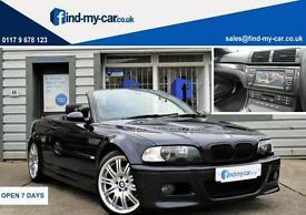 2005 55 BMW M3 3.2 Manual Convertible Carbon Black TV | NAV | FSH