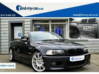 2005 55 BMW M3 3.2 Manual Convertible Carbon Black TV | NAV | FSH