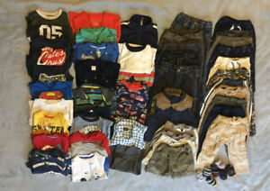 Huge lot of boys size 2T clothing