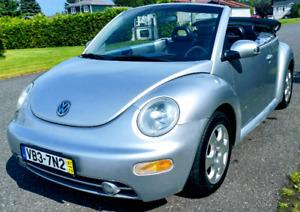 Volkwagen new beetle convertible 2003