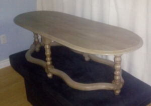 Shabby Chic Coffee Table (Chalk Paint)/Table Basse Shabby Chic