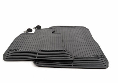 New Genuine BMW 7 F01 F02 Front All Weather Rubber Floor Mats Black LHD 2409275