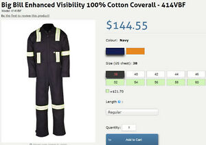 New price - New Big Bill overall coverall size 44 ( L )