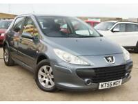PEUGEOT 307 1.6 PETROL S 5D AUTOMATIC VERY LOW MILES + SERVICED + MOT 2019