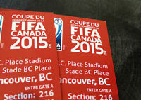 FIFA World Cup Final - 2 tickets - Excellent seats