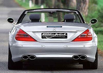 Mercedes SL R230 Sportauspuff Auspuff Endschalldämpfer Edelstahl Ausführung VA