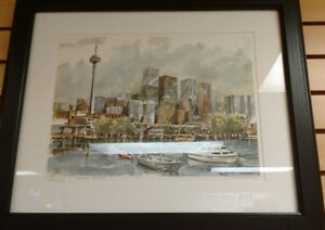Framed copy of painting for sale