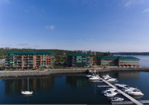 FURNISHED 2 BED PLUS DEN CONDO IN BEDFORD WITH WATER VIEWS!