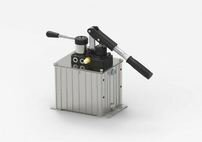 Double Stroke Handpump For Double Acting Cylinder With 4l Oil Tank 25cc With Rel