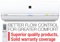 Sharp Ductless Heat Pumps - Red Seal HVAC Professional