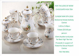 Mothers Day High Tea China Wanted!!