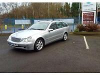 Mercedes-Benz C270 2002 Diesel Estate In Silver **HUGE SPEC**