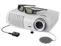 Optoma HD25 3D projector with 2 3D glasses