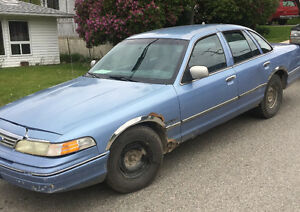 1994 Ford Crown Victoria Chrome Sedan