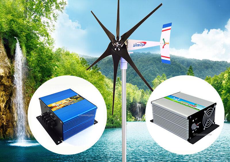 1800 W 12 V Wind Turbine Generator Kit