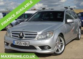MERCEDES-BENZ C CLASS C220 CDI ESTATE SPORT AUTOMATIC MERCEDES HISTORY