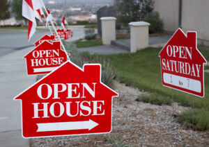 HURRY UP !! LIMITED TIME OFFER FOR 12 OPEN HOUSE SIGN FOR $99