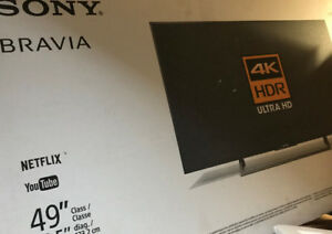 SONY BRAVIA Smart LED Ultra HD 4K TV 49 inch!