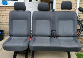 Vw Transporter T5 / T5.1 / T6 Rear 2+1 Seats Tasimo Trim