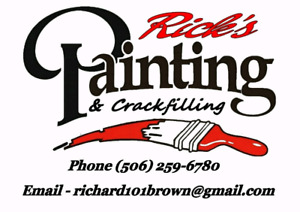 RICK'S PAINTING &Crackfilling