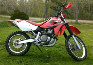 2004 Honda xr650r - with off-road papers
