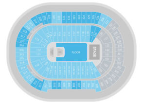 Kendrick Lamar tickets (SEC 107, row 19) 4 CLUB SEATS