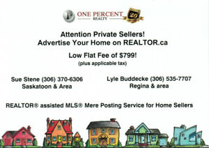 """LOW FLAT FEE MLS® LISTINGS """"FOR SALE BY OWNER"""" NOW AVAILABLE"""