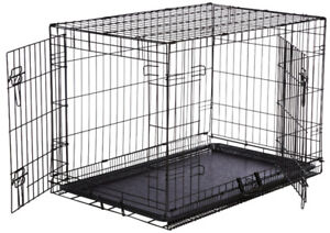 """New XL Dog Crate Pet Cage Kennel 48""""L"""