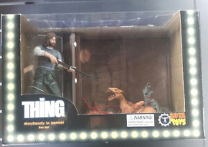 The Thing MacReady In Kennel, Box Set, Sota Toys, Action Figure