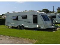 Touring Caravan (2008) - Elddis Crusader Super Cyclone (4 berth) with full awning