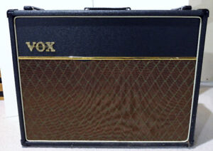 VOX AC30 Tube Amp with Celestion Blue Alnico Speakers
