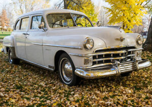 Voiture antique a vendre - Chrysler Limousine 1950
