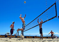 Wanted: Sand/snow volleyball players, free, outdoor, 2's, privat