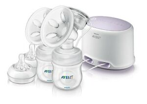 Double electric avent breast pump