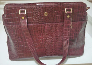 WOMEN'S BRAND NEW ETIENNE AIGNER LEATHER BAG