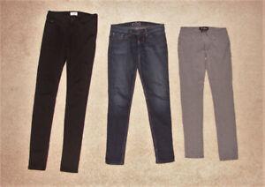 Bootlegger, Mavi, Guess, Levi Jeans, Guess Stretch -24, 25, 27,S
