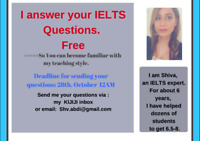 IELTS/TUTOR/PRIVATE & GROUP CLASSES