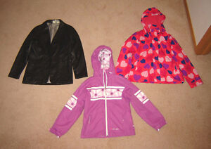 Girls Winter and Spring Jackets, Clothes - sz 10, 12, 14 Strathcona County Edmonton Area image 6