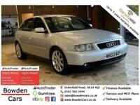 2003 Audi A3 1.8 T Sport 5dr Hatchback Petrol Manual