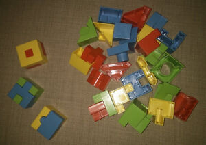 Build a cube for preschoolers and kindergarteners