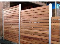 All types of Fencing & Decking installed. Wood or concrete posts. And Garden Gates