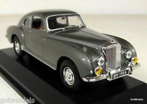 Road Sig 1/43 Scale 43212 1954 Bentley R-Type Continental Grey Diecast Model Car