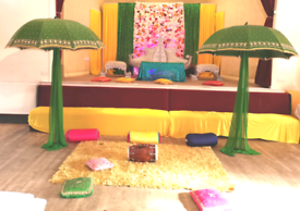 Mendhi stage hire 07846194010