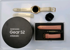 Montre Samsung gear S2 classic or rose