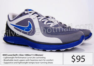 - = NIKE 'LunarSWIFT +' (Running Shoes, Sz10Men) = -