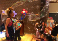 KIDS BUBBLE SHOWS AND PARTY CHARACTERS