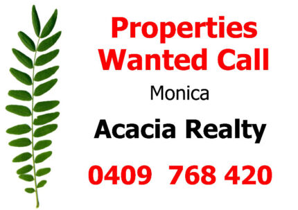 Wanted: Properties Wanted