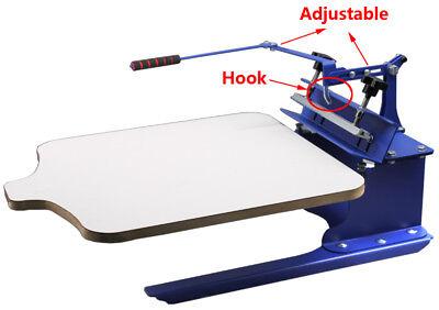 Simple Color Screen Printing Machine Silk Screen Shirt Press Printer
