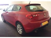 2015 RED ALFA ROMEO GIULIETTA 2.0 JTDM-2 175 BUSINESS EDT CAR FINANCE FR £37 PW