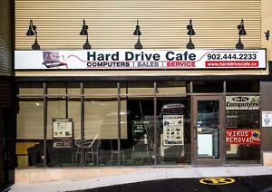 Computer Repair Dartmouth 14 years in Business HARD DRIVE CAFE